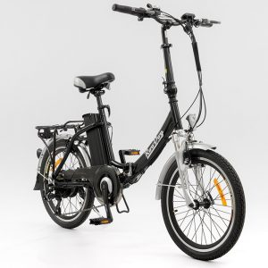 Black Bliss Folding Electric Bike