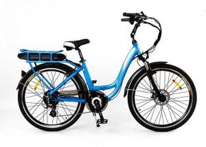 Chic electric mountain bike