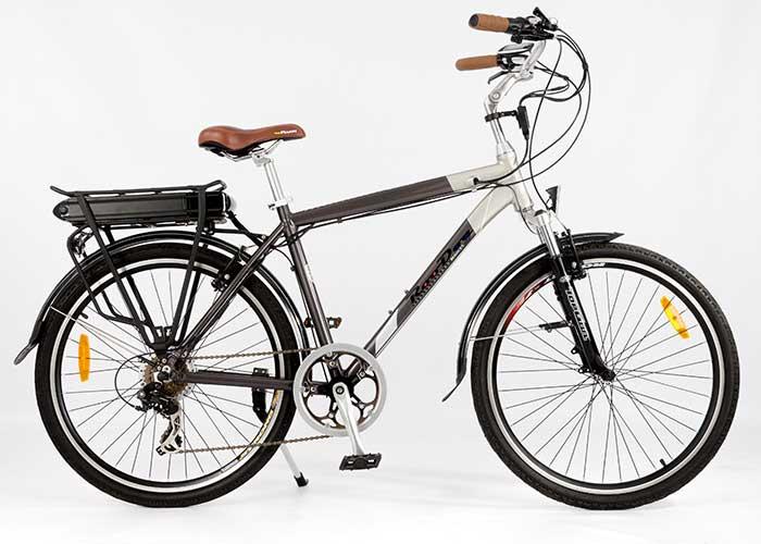 Tourer electric city bike