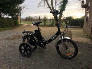RooDog bliss with adult stabilisers