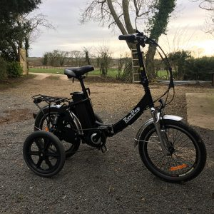 RooDog bliss with adult stabilisers / training wheels accessories for RooDog ebikes