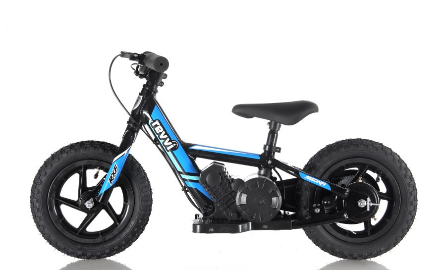 RooDog Revvi children's electric bike blue
