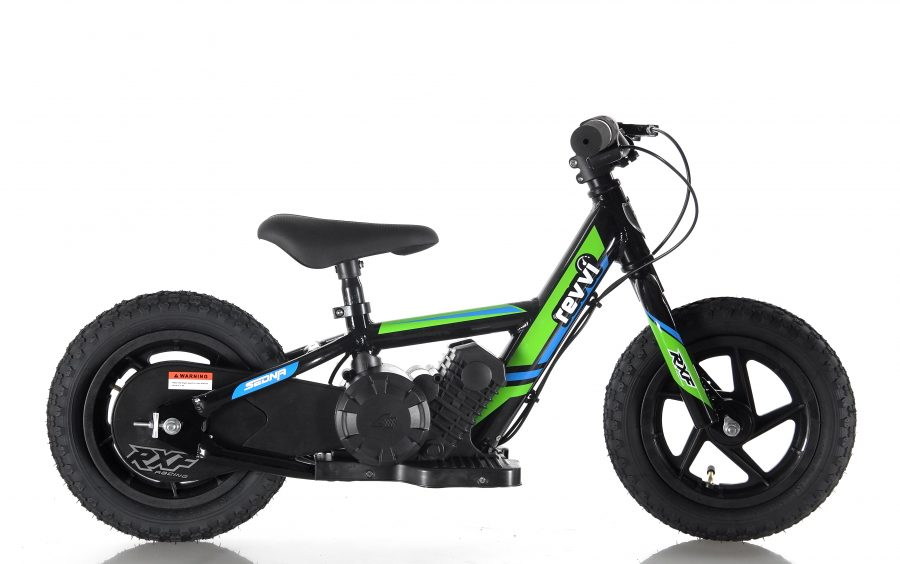 RooDog Revvi children's electric bike green