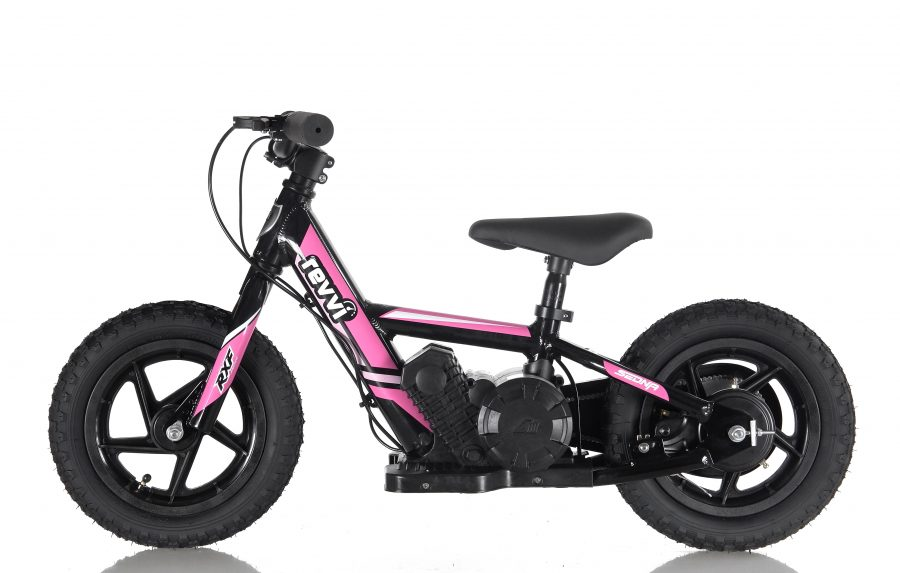 RooDog Revvi children's electric bike pink