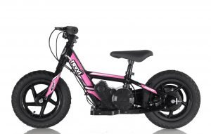 RooDog Revvi children's electric bike pink