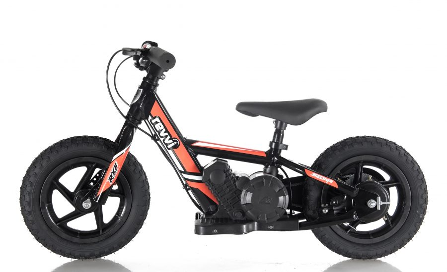 RooDog Revvi children's electric bike red