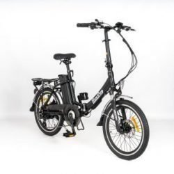 RooDog Bliss - folding electric bike 2019 with upgraded disc brakes side view