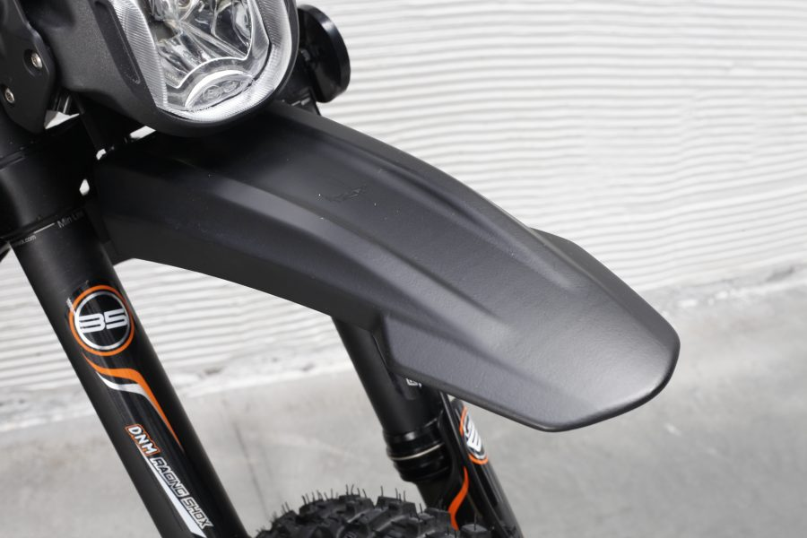 RooDog - Surron road legal grey mud guard