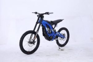 Chic electric mountain bike