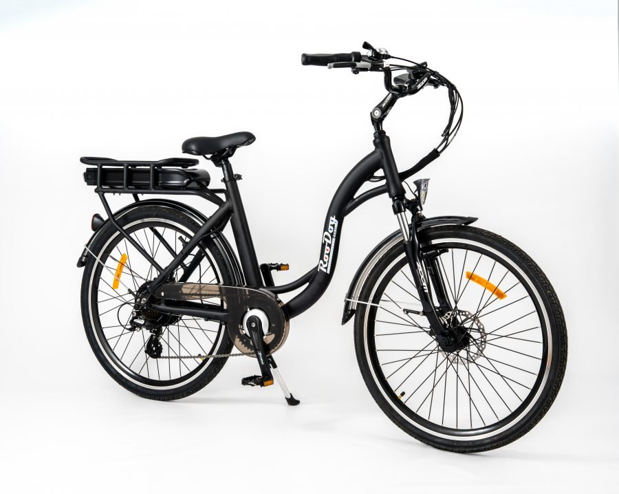 RooDog Chic Grande - low step ebike black side