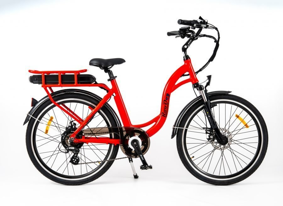 RooDog Chic Grande - low step ebike red