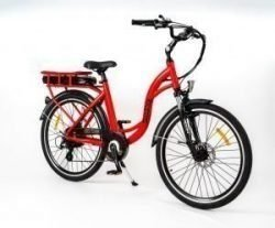 RooDog Chic Grande - low step ebike red side