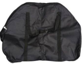 Black Canvas Folding Bike Bag